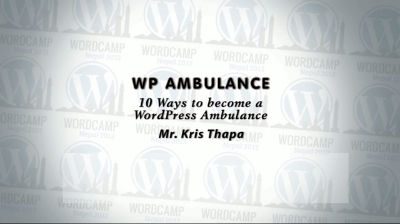 Kris Thapa: WP Ambulance