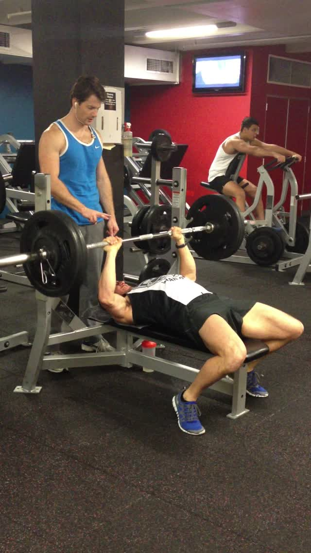 105kg bench july 10