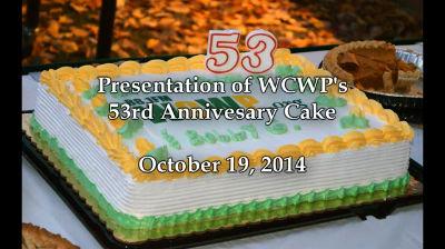 WCWP's 53rd anniversary cake