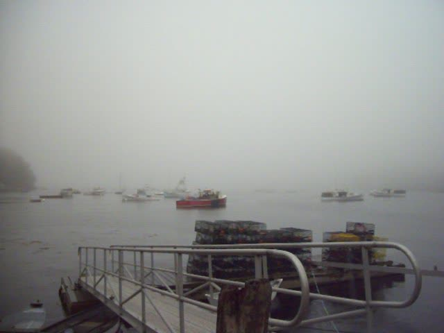 Rockport Harbor, Pea Soup Fog