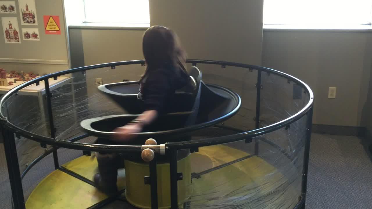 Spinning Alex