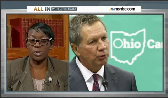 KASICH – 'THERE'S A WAR ON THE POOR'