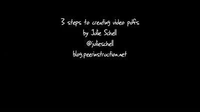 creatingavideopdf