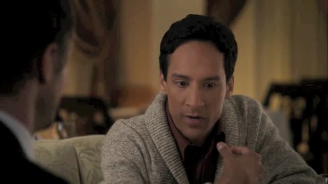 Abed Bday-On Cougar Town