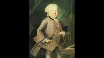 Mozart's 1st Symphony, Andante.