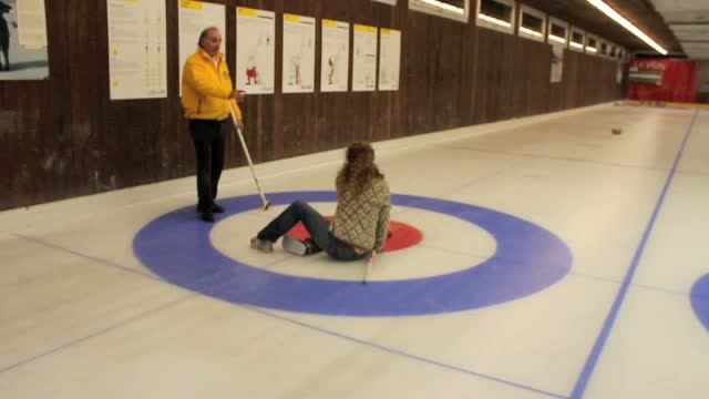 Curling In Leysin
