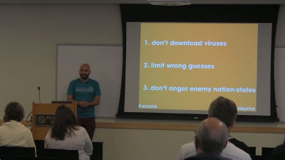Brennen Byrne: Passwords – The Weakest Link in WordPress Security
