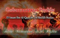 Gobernantes = pueblo, el Imam Ibn al-Qayyim y el Sheikh Raslan