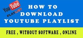 How To Download Youtube Playlist Online