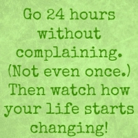 Stop Complaining. Now.