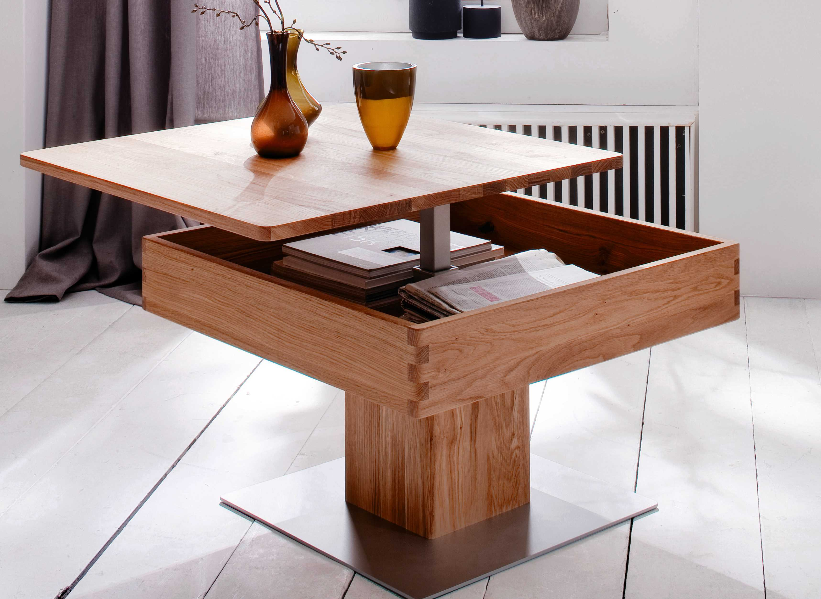 Couchtisch Eve-collection Rimini Eve Collection Couchtisch Couchtisch Almeria Holz Eiche