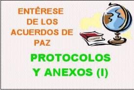 Acuerdos de paz – PROTOCOLOS Y ANEXOS