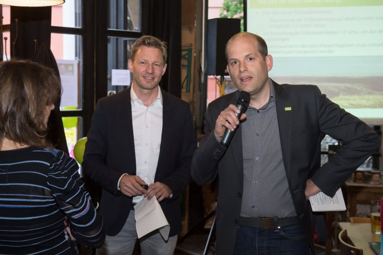 Wollen alle davon überzeugen, dass auch aus Braunkohle Region sauber Strom kommen kann: die GPE-Vorstände Nils Müller und Sönke Tangermann