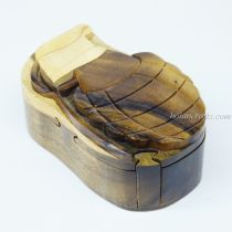 Intarsia wooden puzzle boxes 9