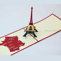 Eiffel Tower Pop Up Card