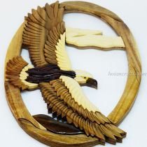 Intarsia wood art painting 6