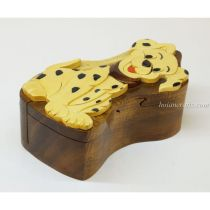 Intarsia wooden puzzle boxes 46