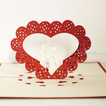 Pop up love cards 7