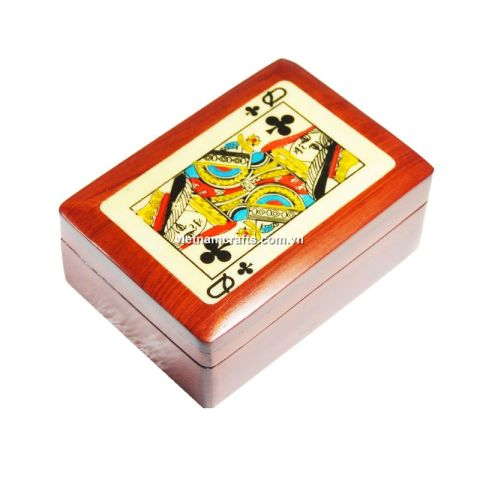 Playing Card Box Queen of Spades (2)