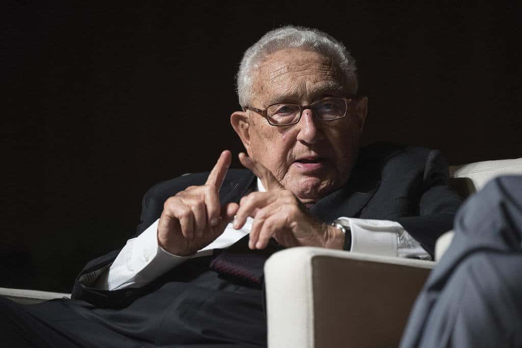 Kissinger Has No Regrets at 2016 University of Texas Vietnam War Summit