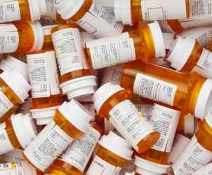 Prescription-drug-bottles