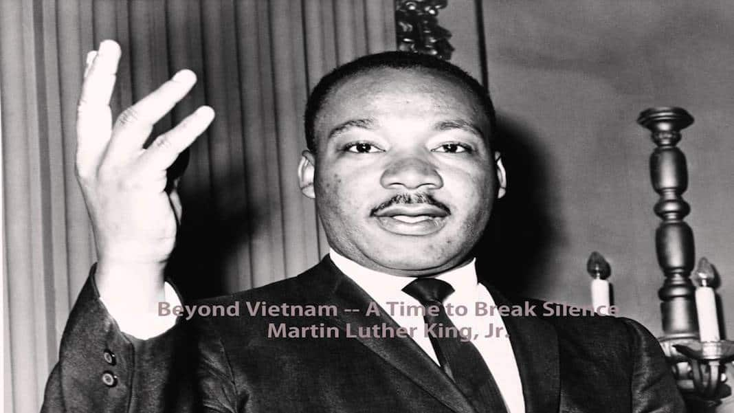 beyond vietnam thesis Study guide and teaching aid for martin luther king, jr: beyond vietnam: a time to break silence featuring document text, summary, and expert commentary.