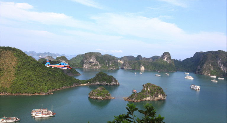 Scheduled Helicopter Flights To Halong Bay From Hanoi Open