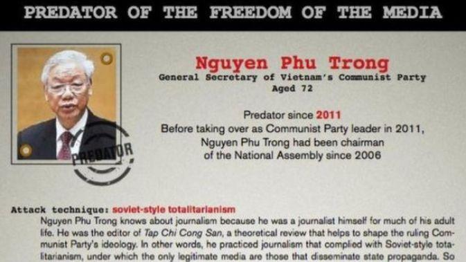 Tình hình tự do báo chí đang xấu đi trên toàn cầu