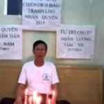 Nguyen Van Tuc - The 88 Project Vietnam Free Expression Newsletter No 27-2017 Week of August 28 September 3
