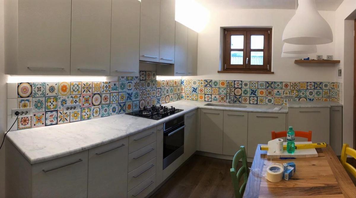 Cucina In Muratura Ceramiche Vietri   Mix & Match: Patchwork ...