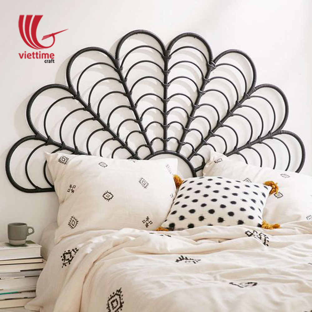 Bed Headboard Black Rattan Bed Headboard Wholesale