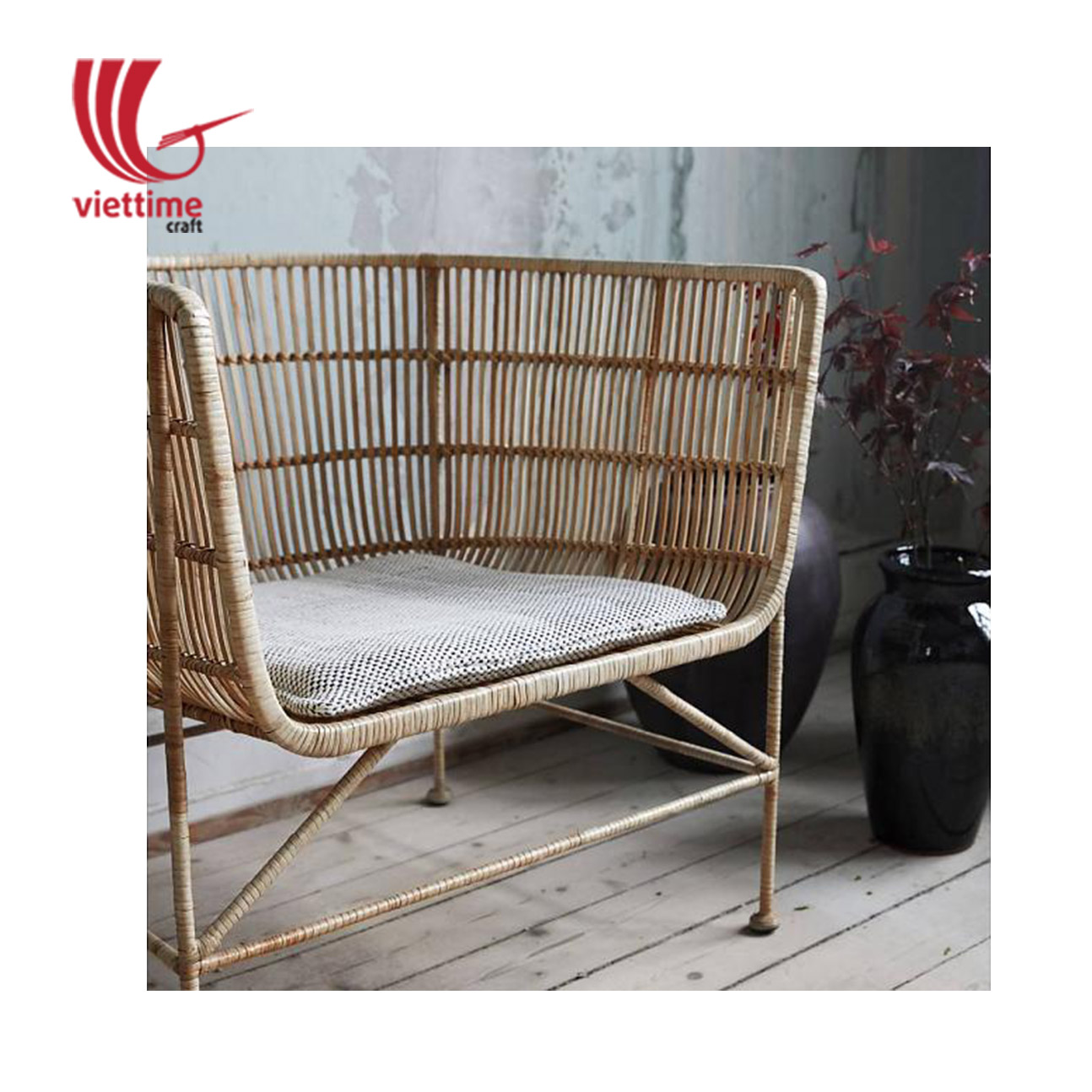 Rattan Sofa Short Soft Rattan Sofa Wholesale Made In Vietnam Viettime Craft
