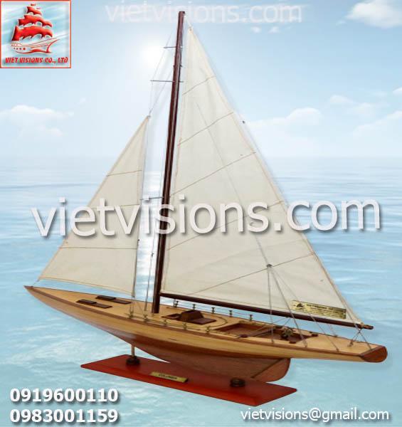 Thuyền Buồm Mô Hình COLUMBIA