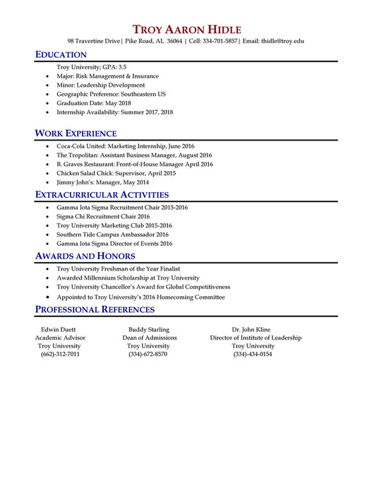 My publications - TROY RESUME BOOK, FALL-16 - Page 30-31