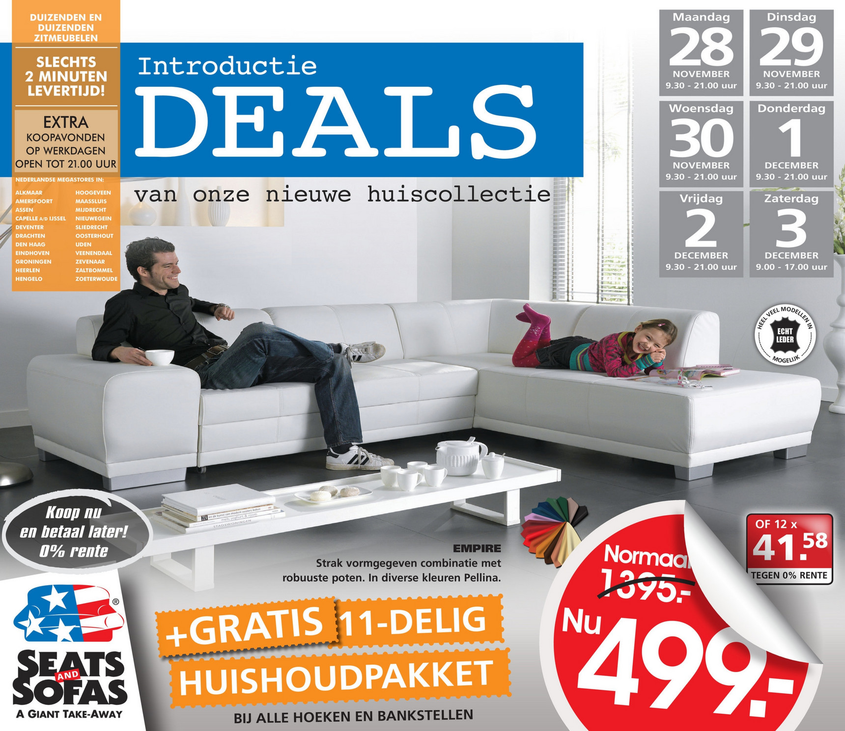 Seats En Sofa Heerlen Folderaanbiedingen Seats And Sofas Folder 28 November Tm 3