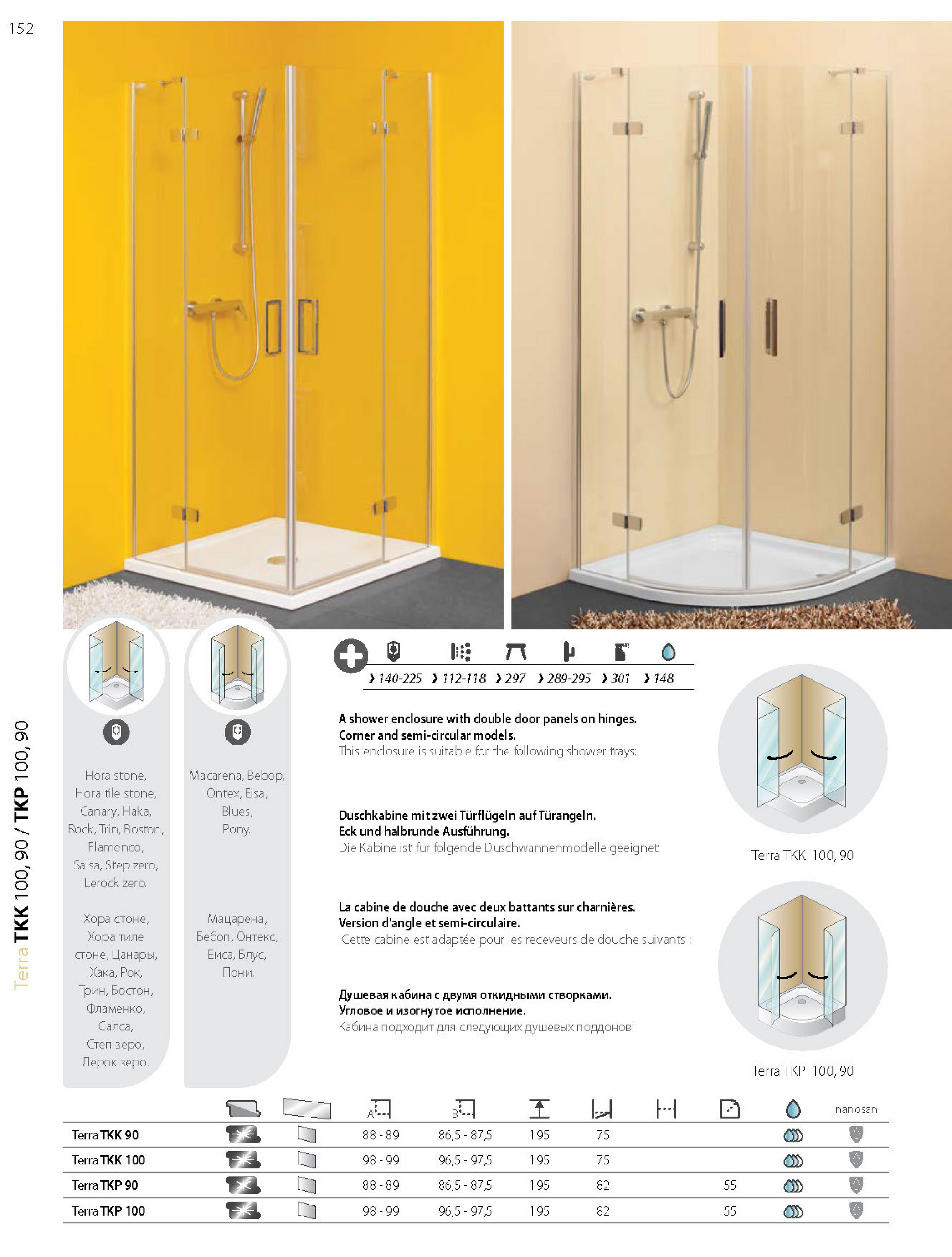 Halbrunde Duschkabine Tesign - Kolpa Shower Enclosures - Page 6-7 - Created With Publitas.com