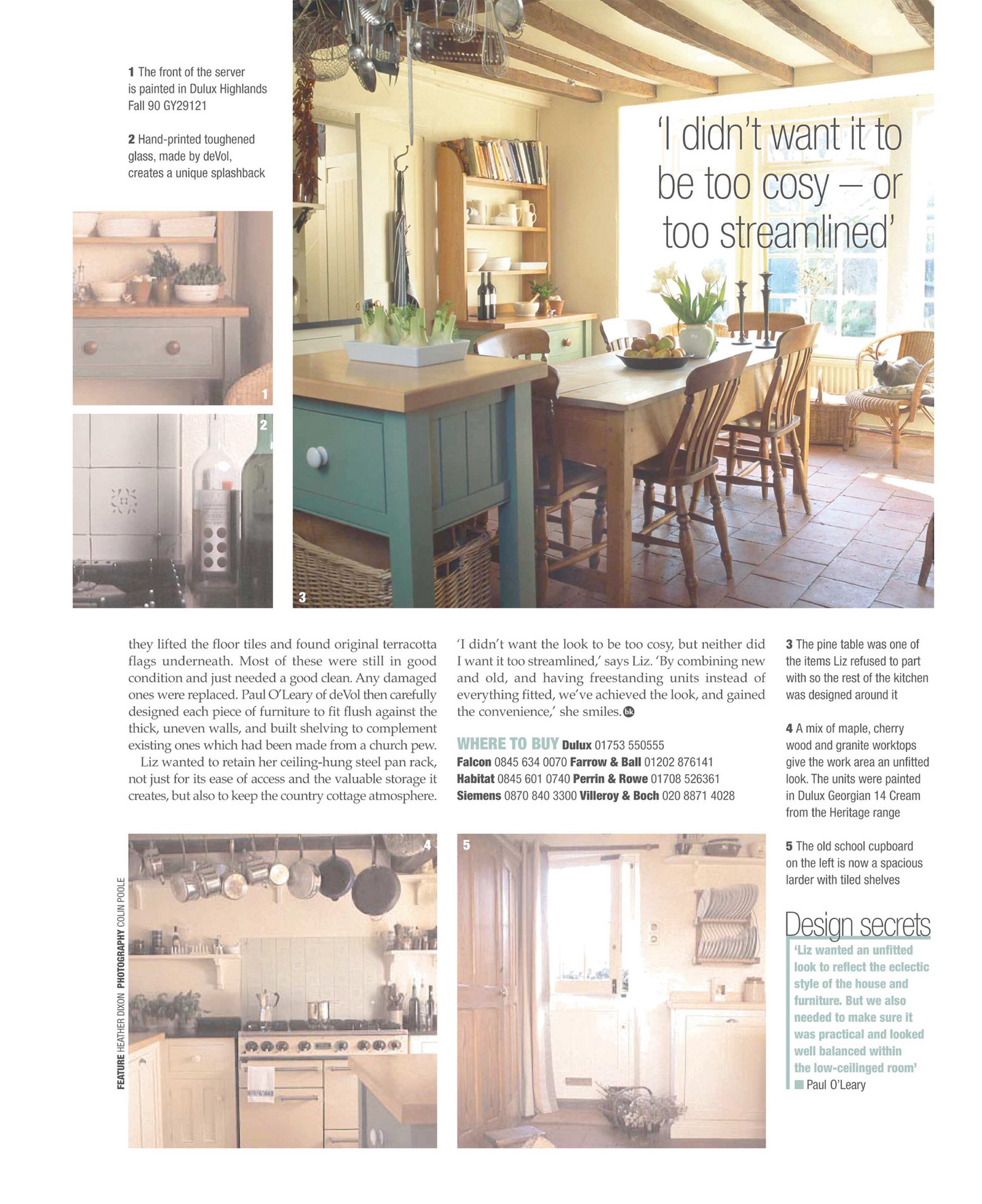 Devol Brochures 25 Beautiful Kitchens August 2004 Page 2 3