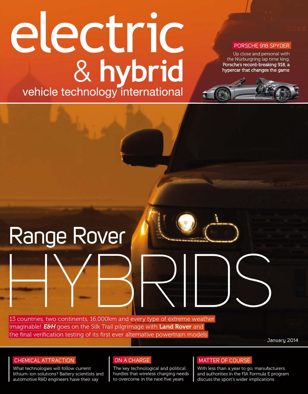 For Electric And Hybrid Vehicles Electric Hybrid Vehicle Technology International January 2014