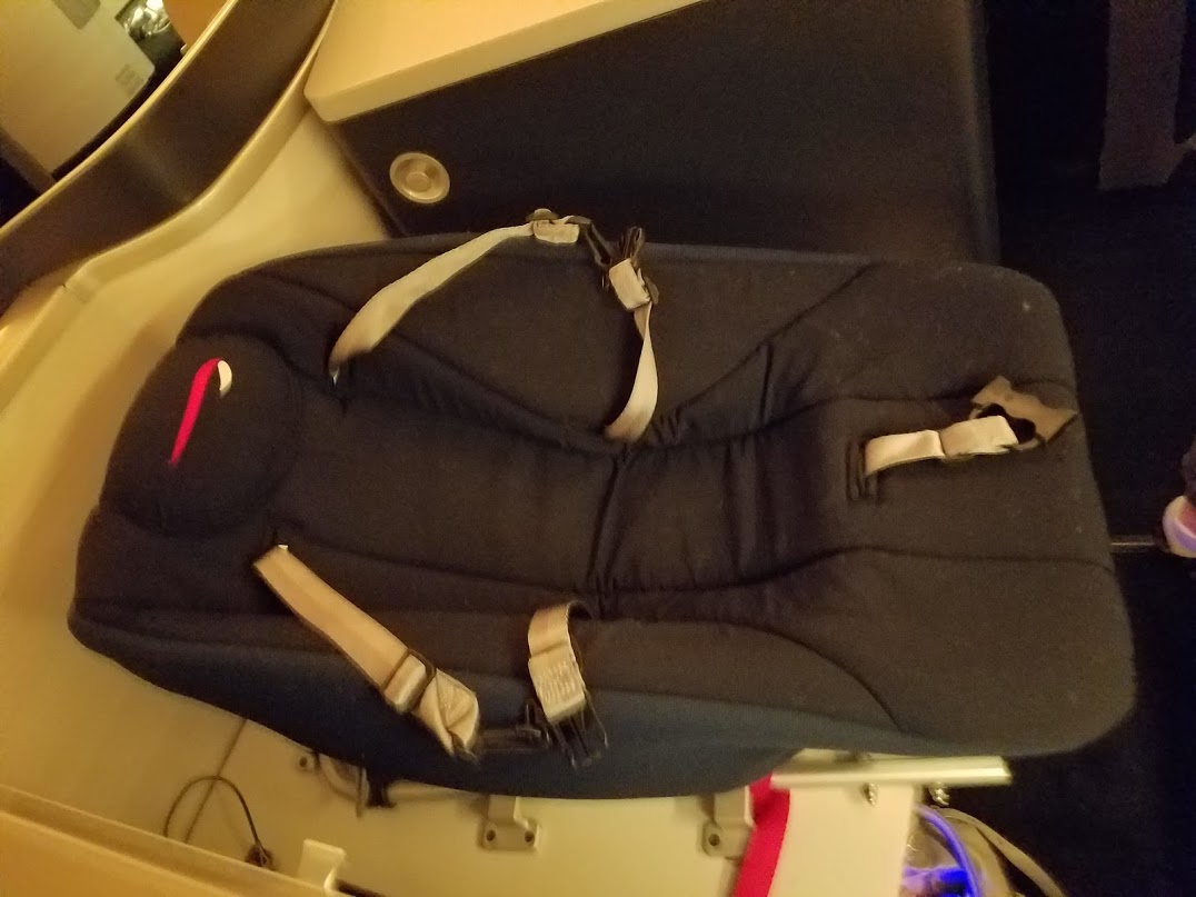Baby Cot United Airlines Traveling With A Baby In British Airways First Class View