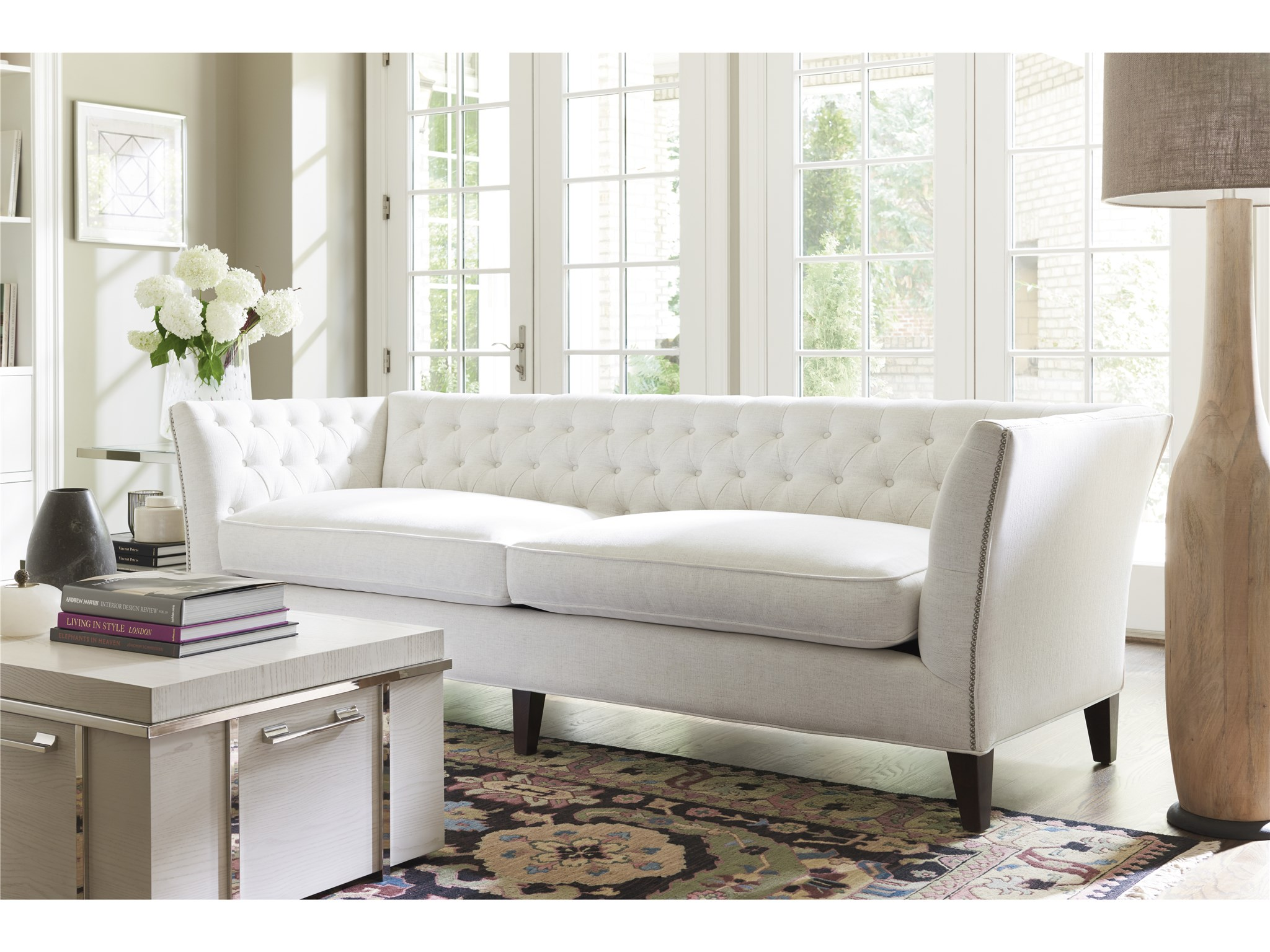 Living Room Spaces Universal Furniture Curated Duncan Sofa