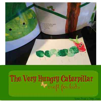 Your little ones will LOVE to get creative with this invitation to make a caterpillar craft for kids. What a great learning activity!