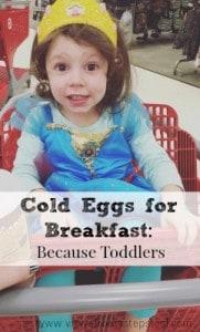 Cold Eggs