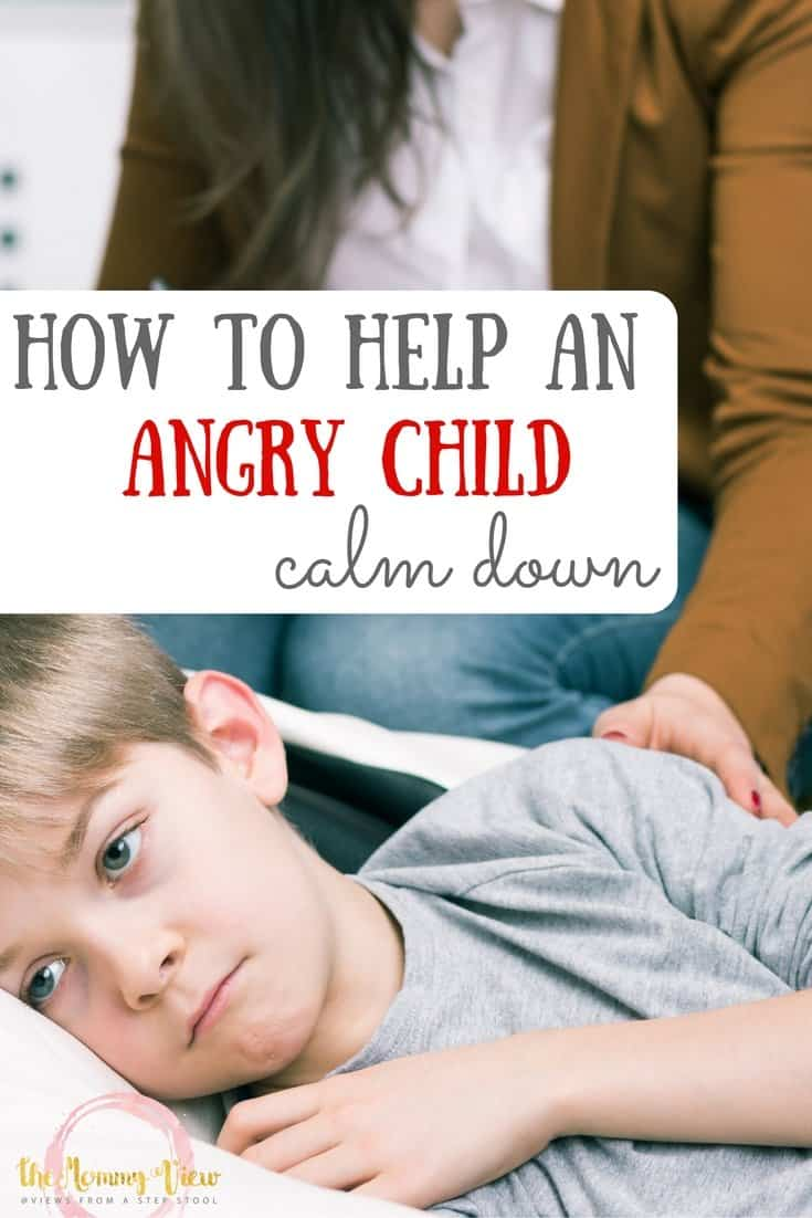 Here are some tips for gently helping your angry child calm down, plus 8 ways they can calm down anywhere! Grab your free printable reminder!