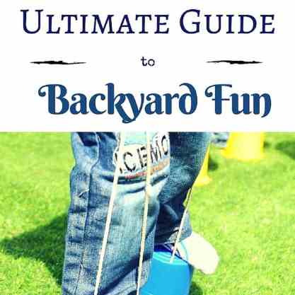 From sand toys and water play to a mud kitchen, this is our guide to backyard fun for your summer!