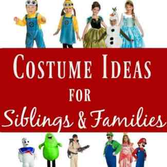 <yoastmark class='yoast-text-mark'><yoastmark class='yoast-text-mark'>Is there really anything cuter than little brothers and sisters dressed up for Halloween with some sort of theme?</yoastmark></yoastmark> Here are some super adorable costume ideas for siblings and families...because why should just kids have all the fun on Halloween?