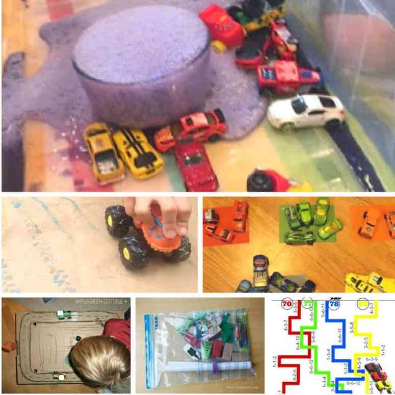 these car themed learning activities for kids will get your little ones loving learning through play