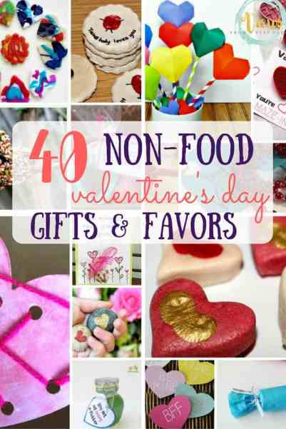 40 non-food Valentines Day gifts and favors!