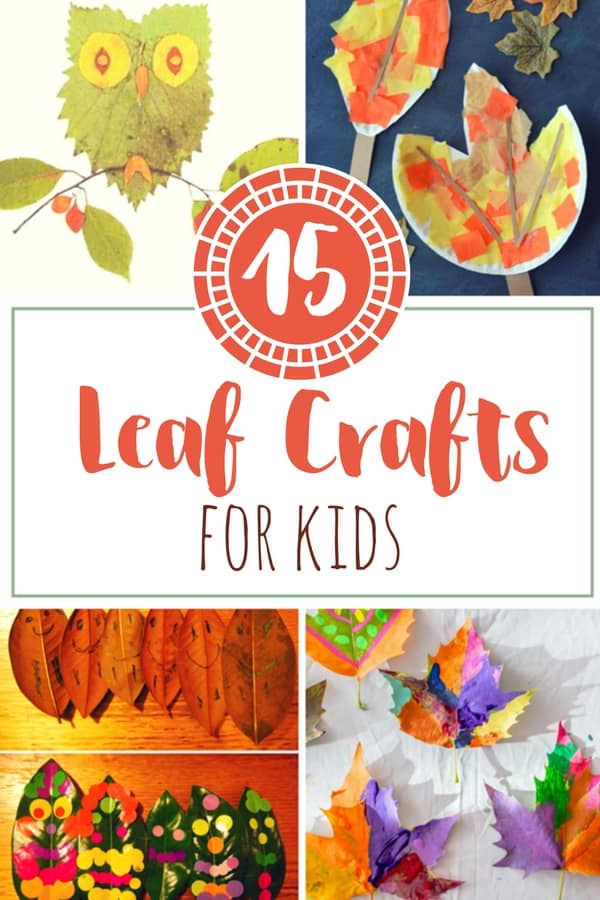Fall is one of our favorite seasons, so we are celebrating with some leaf crafts! Here are 15 leaf crafts for your kids to make!