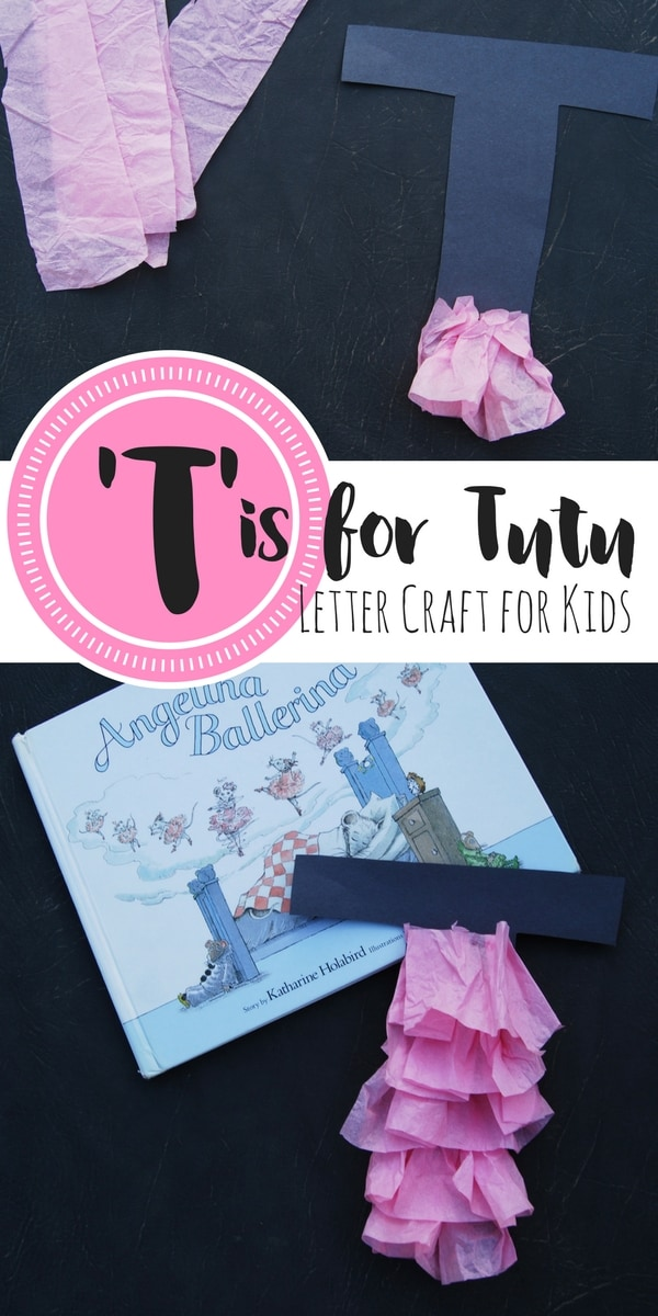 This letter T craft for kids encourages fine motor skills such as cutting and pasting, all while learning about the shape and sound of the letter T.