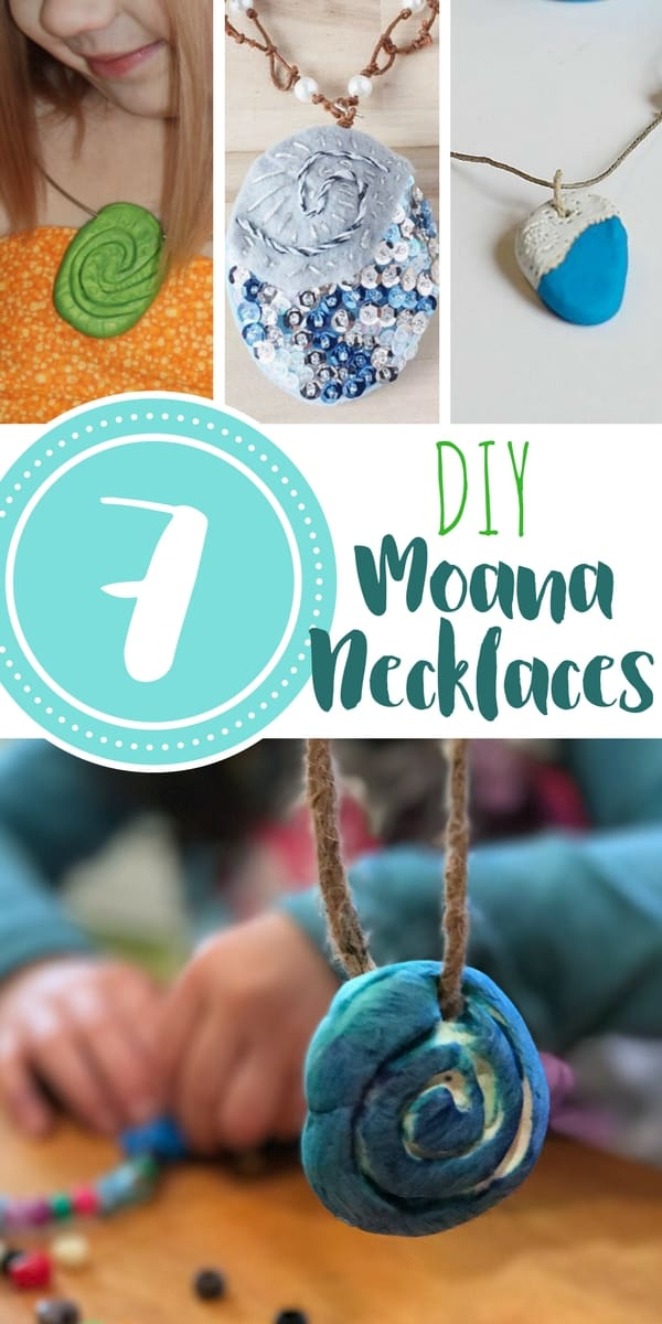 7 Moana necklaces and craft tutorials with a range of difficulty level and with a variety of materials. Kids will love to make these (and maybe adults too!)